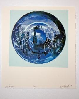 """Sense of Place (2012) Silkscreen 8x11"""""""
