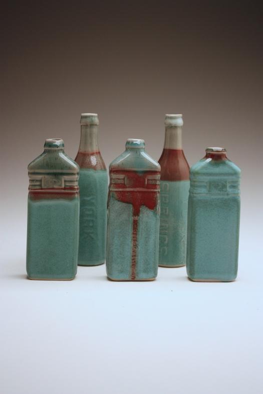 Ceramic bottles 1